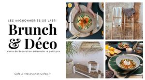 Brunch / Vente Déco / Ethnique Chic / Boheme / Tapis / Maroc /Pompom