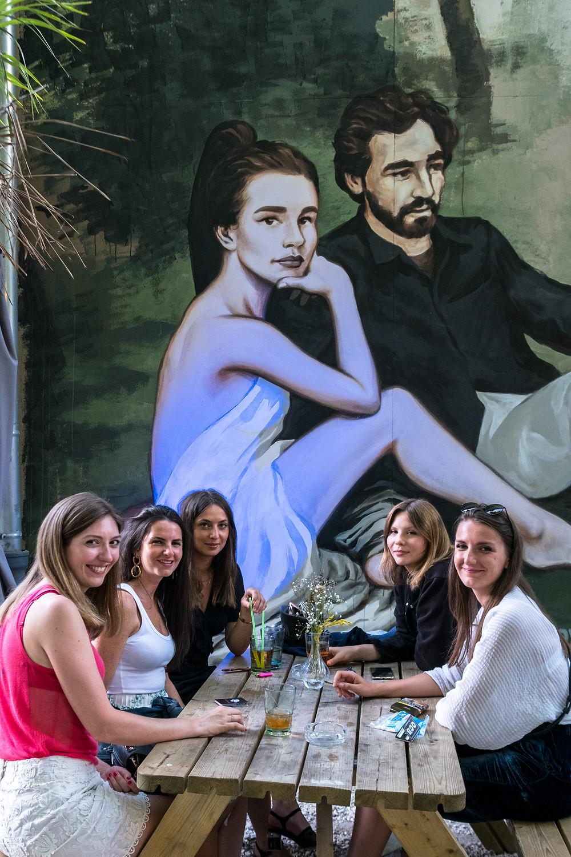 Déjeuner sur l'herbe I PBOY I EDOUARD MANET I impressionnisme I reproduction I Café A I Gare de l'est