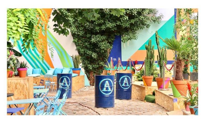 L'Eden Garden du Café A par Yakoa
