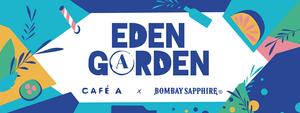 EDEN GARDEN BOMBAY SAPPHIRE X CAFE A I BAR GIN PARIS I GIN TONIC PARIS I CAFE A I GARE DE L'EST I 75010
