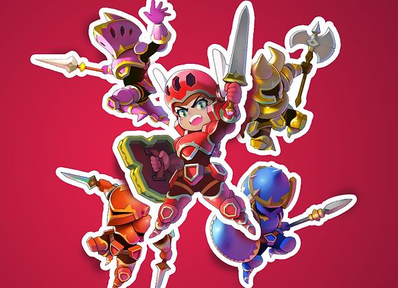 KNIGHTS Sticker Pack