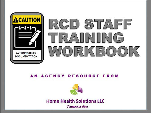 RCD Staff Training Workbook