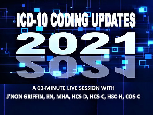FY2021 Coding Update