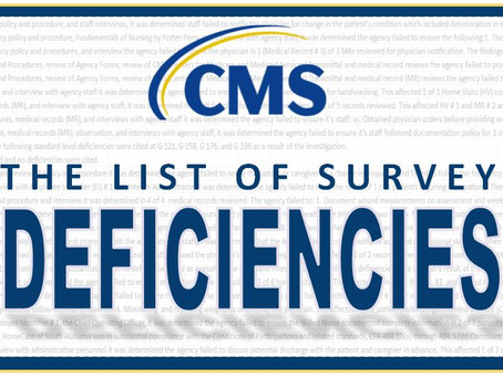 CMS releases deficiency list