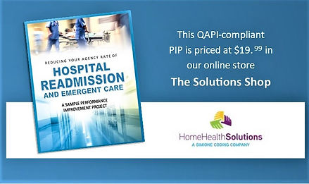 Come Browse Ad for Rehospitalization PIP