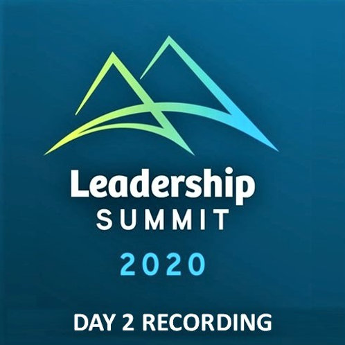 Day 2 Simione Leadership Summit 2020