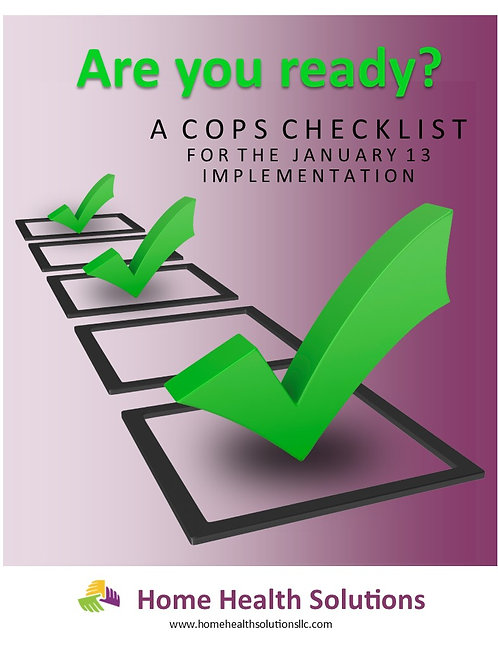 The CoPs Checklist