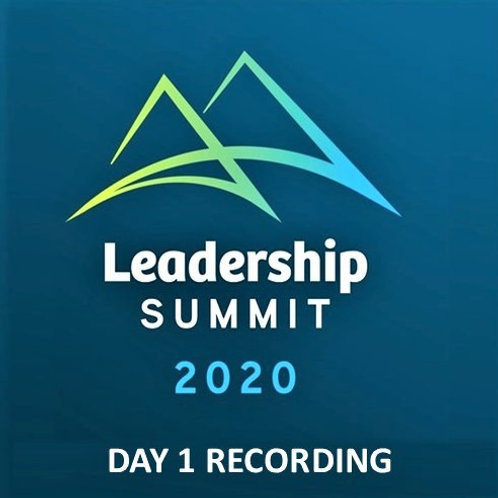 Day 1 Simione Leadership Summit 2020
