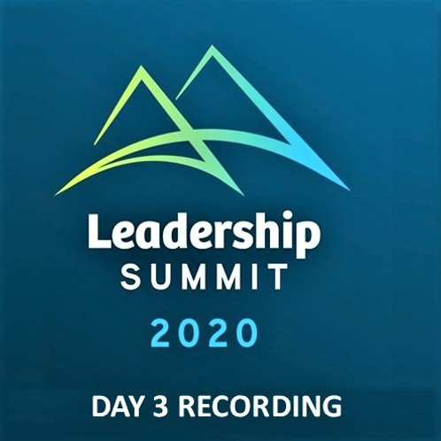 Day 3 Simione Leadership Summit 2020