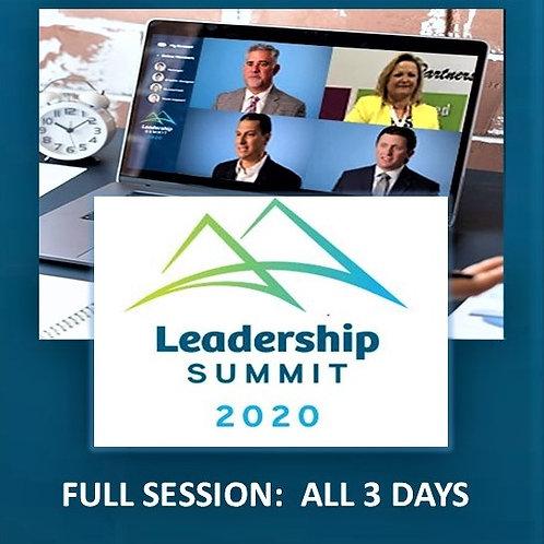 Simione Leadership Summit 2020