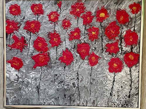 Poppies by Ranae Koyamatsu