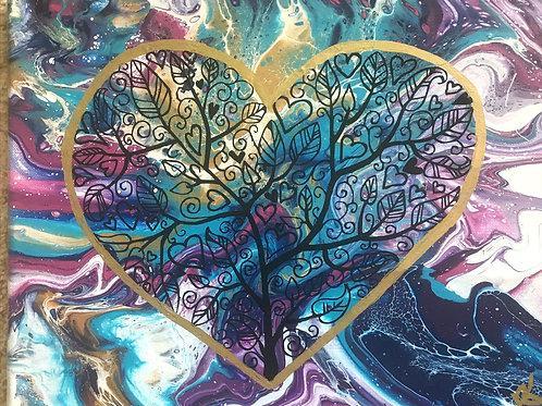 Mandala Love by Ranae Koyamatsu