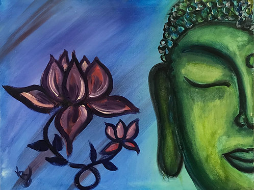 Green Tara by Karen Buford