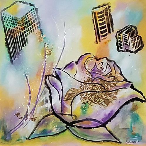 Urban Rose by Lesley Beth