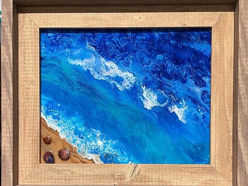 Framed Ocean by Ranae Koyamatsu