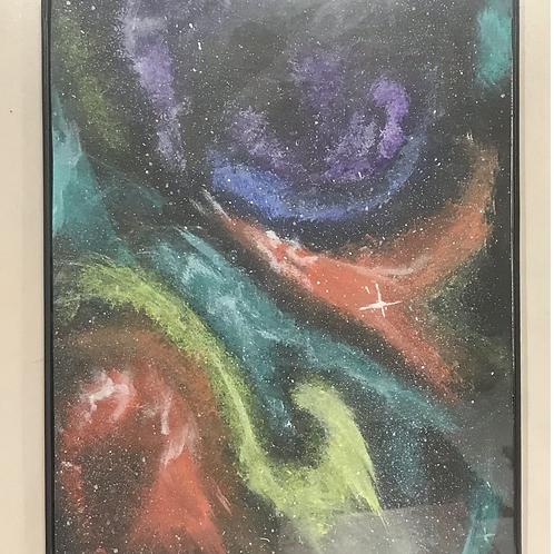 Galaxy wisps by Danni Brandenburg