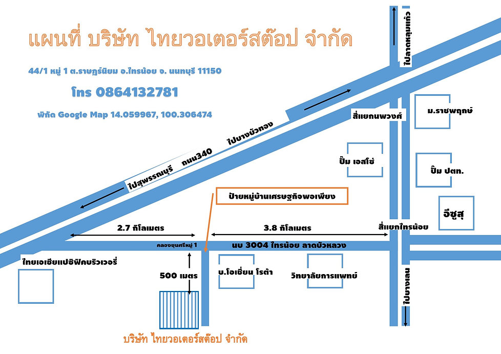 thaiwaterstop map