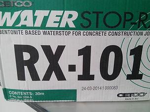 Waterstop rx101