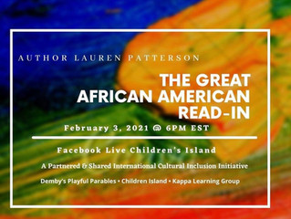 Watch The GREAT AFRICAN AMERICAN READ-IN