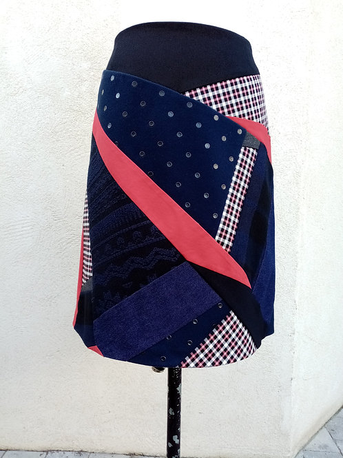 Jupe PATCHWORK T.44