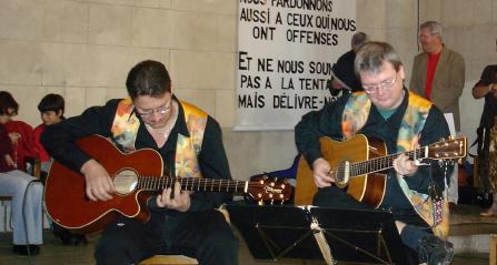"""Les Acidulés"" en concert, le 15 octobre 2006"