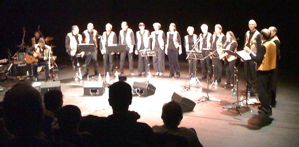 """""""LesAcidulés"""", spectacle """"Bien timbré"""", le 14 novembre 2009"""