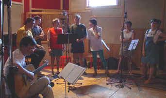 Les Acidulés en studio