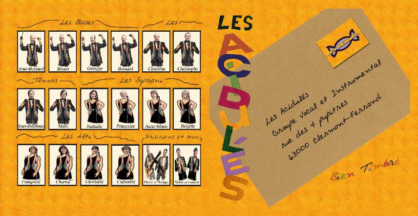 "Les Acidulés CD ""Bien-timbré"""