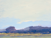 Purple Hills o/c 12x12