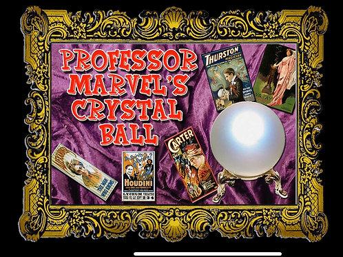 Professor Marvel Crystal Ball Cards