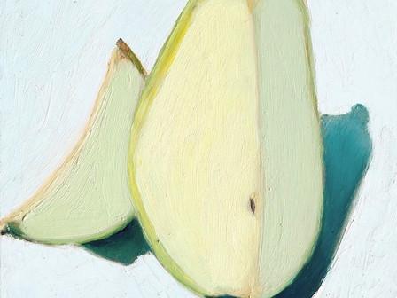 Sliced Pear o/c 10x8