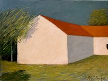 White Cottage o/c30x40