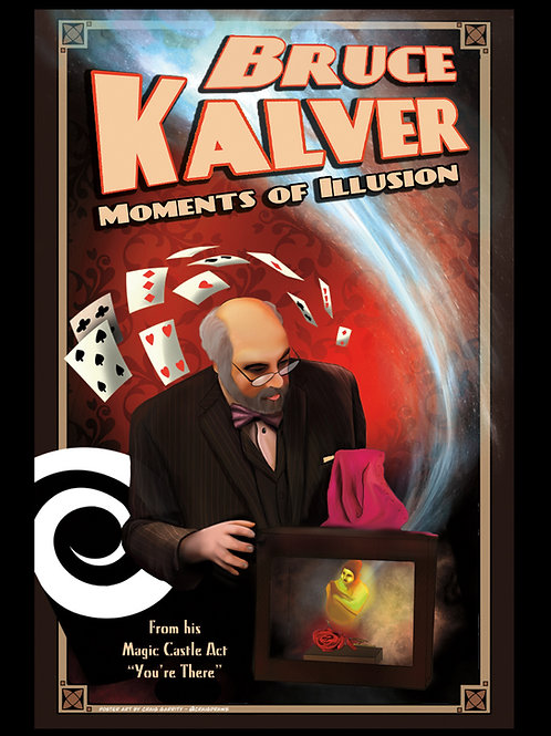Bruce Kalver You're There Poster