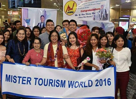 Welcome Back Home- Mister Tourism World 2016