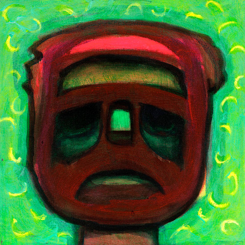 """""""Red and Green Mask"""" (2017)"""