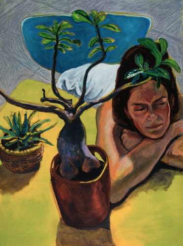 """""""Marie and her Plant"""" (2012)"""