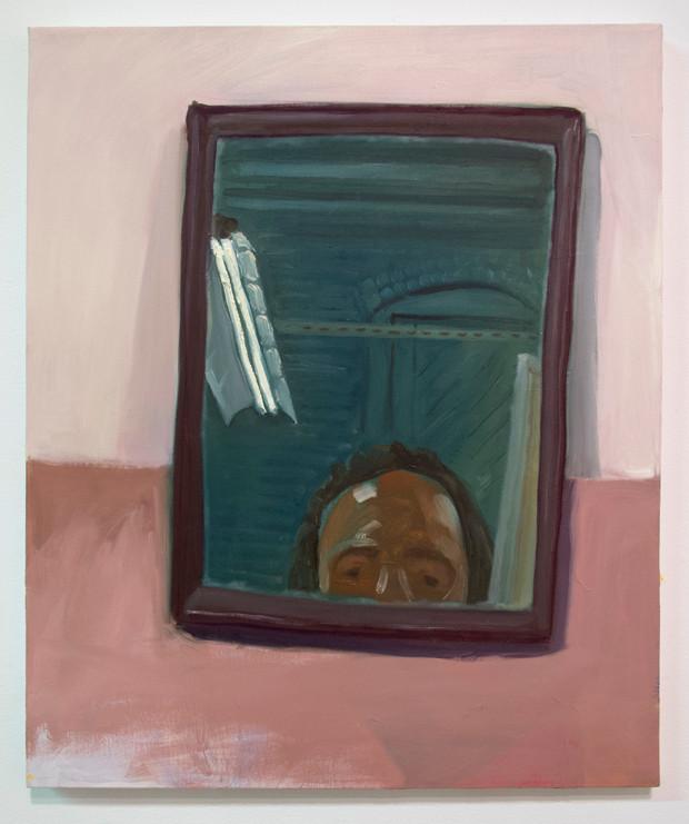 """""""Self in Mirror"""" (2014)"""