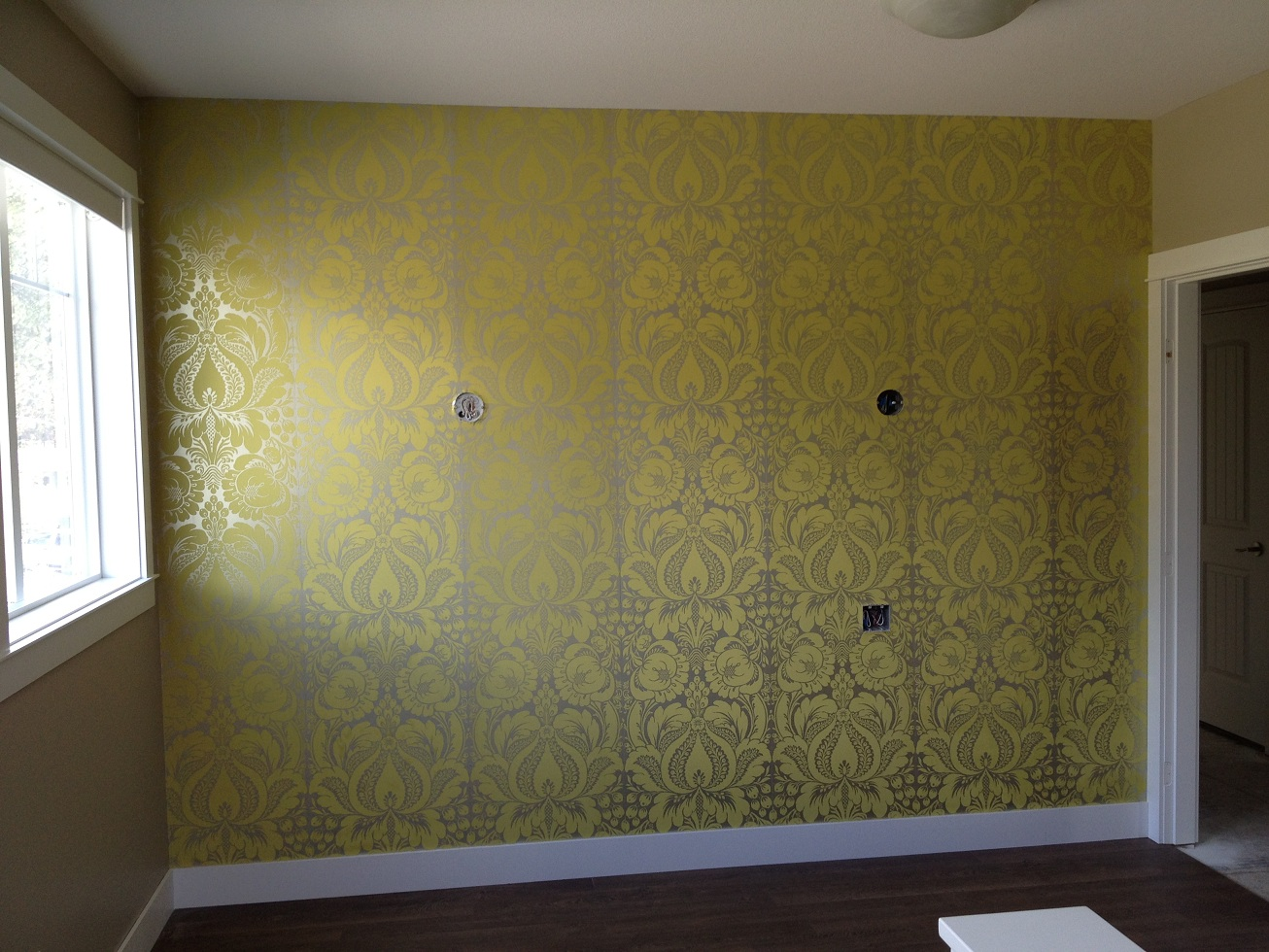 Feature Wall in Home Loft Hair Salon