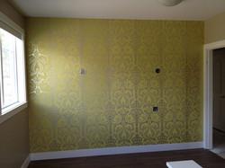 Feature Wall in Home Loft Hair Salon