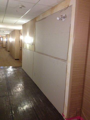 Hotel Hallways / Repair