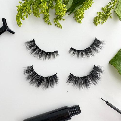 Aurora and Desire 3D Volume Magnetic Eyelash and Eyeliner Kit