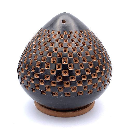 Handmade Fair Trade Geometric Square Luminar