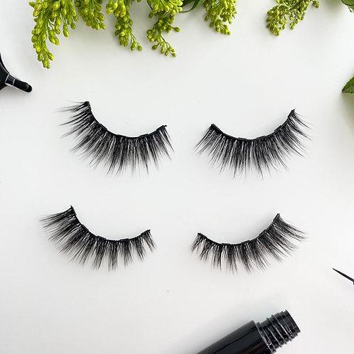 Kiki & Aurora 3D Volume Magnetic Eyelash and Eyeliner Kit