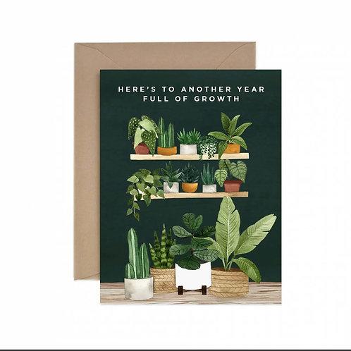 Full of Growth Birthday Greeting Card