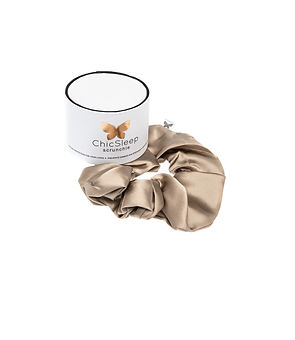 silk scrunchies, amazing for hair, ponytails, made in Canada,