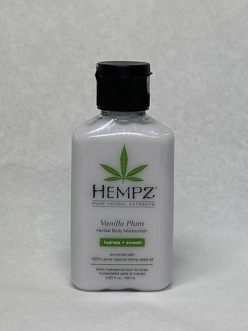 Hempz VanillaPlum Moisturizer Purse size