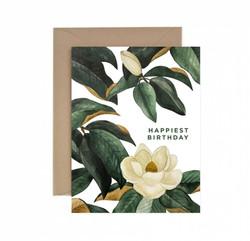 Magnolia Happiest Birthday Greeting Card