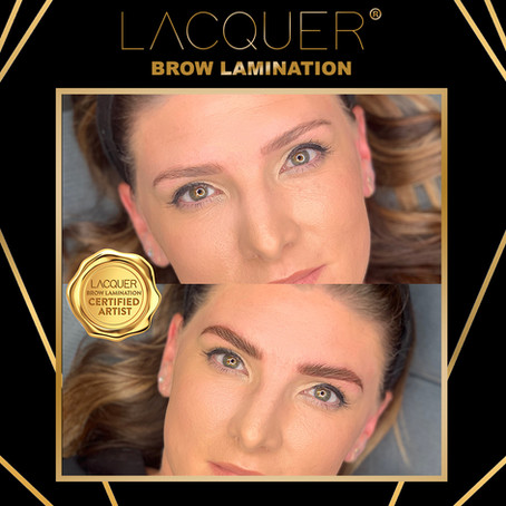 LACQUER BROW LAMINATION IS HERE!