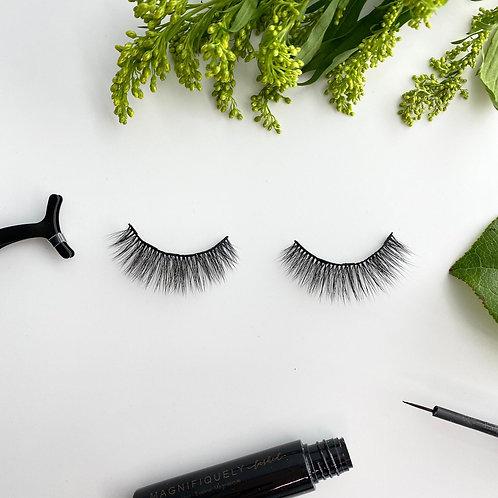 Bella 3D Volume Magnetic Eyelash and Eyeliner Kit