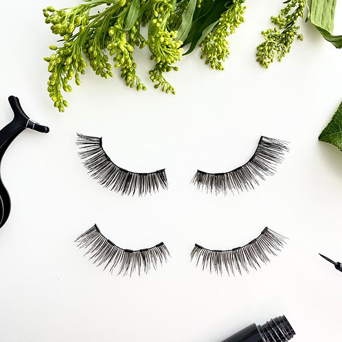 Kawaii and Coco Classic Magnetic Eyelash and Eyeliner Kit